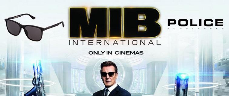 05cacc9b0b Compra las gafas de Men in Black International. Gafas Police originales de  la película.